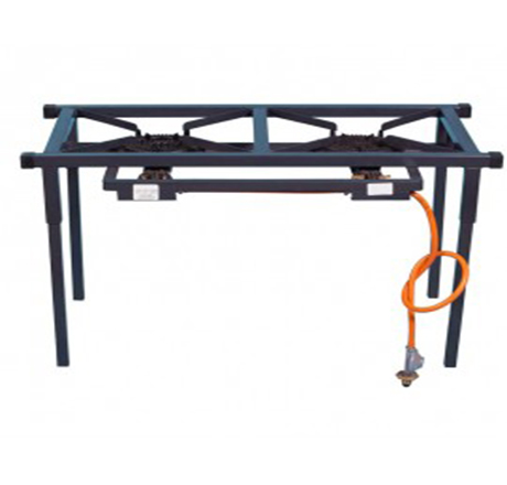 Cast Iron 2 Plate Gas Stove
