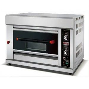 Hgo-12 Gas 1 Deck 2 Tray Oven