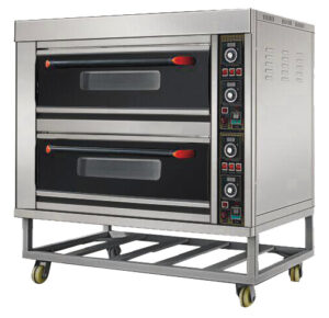 Electrical 2 Deck 4 Tray Oven Heo-24