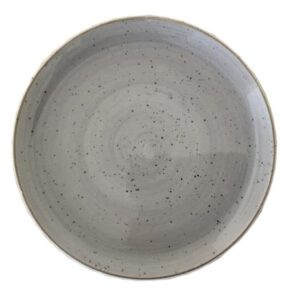 Rustic Grey Coupe Plate 27cm