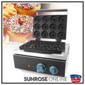 12 Mould Donut Maker