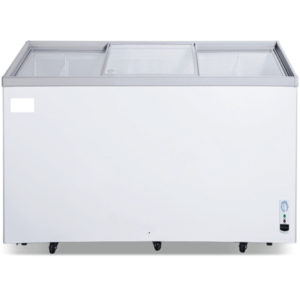 Glass top Island Freezer