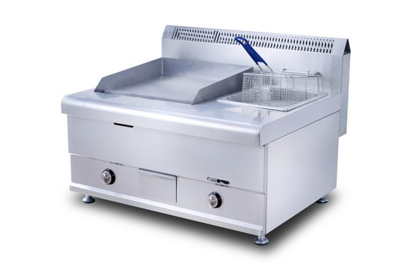 Electric Griddle With Electric Deep Fryer