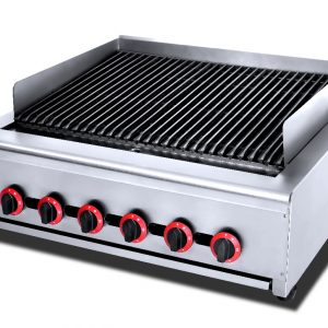 6 Burner Gas Chargrill HGL-86
