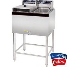 Electric Deep Fryer With Stand