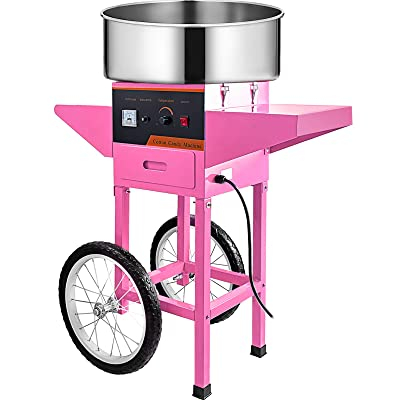ELECTRIC CANDY FLOSS MAKER ON CART
