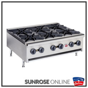RB-6Counter top gas range