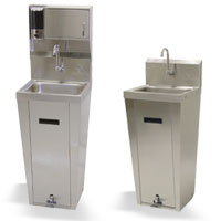 PEDESTAL BASE UNIT HAND SINK