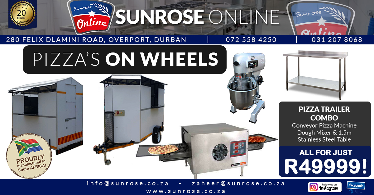 Pizza trailer dbn