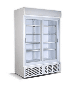 Sliding Double Door Cooler