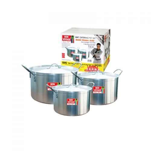 BON VOYAGE LW3 3PC WIRE HANDLE POTS