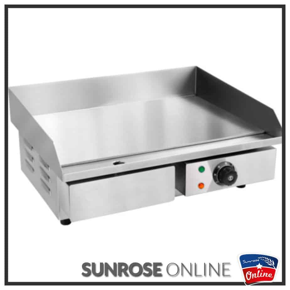 ELECTRIC GRILLER FLAT TOP HEG-818