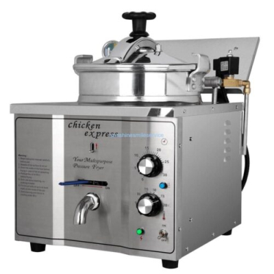 Electric Pressure Fryer – Counter Top