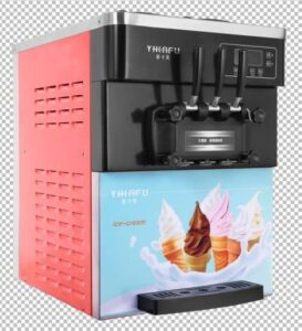 Counter Top Ice Cream Machine (2 Flavour And Mix)