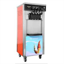 Floor Standing Ice Cream Machine (2 Flavour And Mix)
