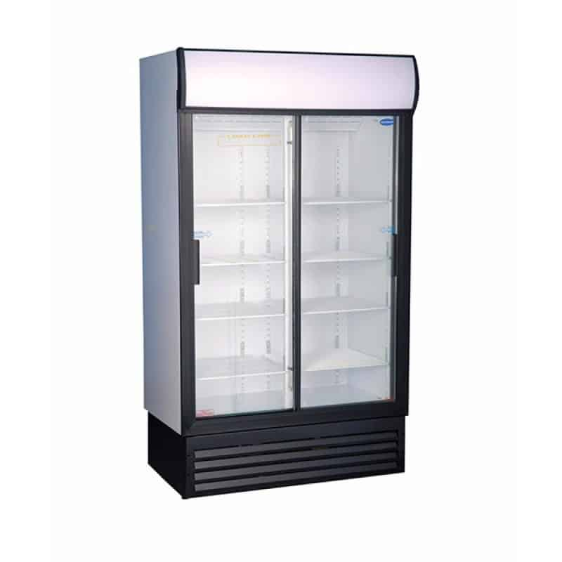 Double Sliding Door Upright Freezer (-15 degrees)