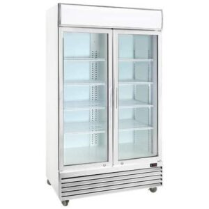 Double Swing Door Upright Freezer (-15 degrees)