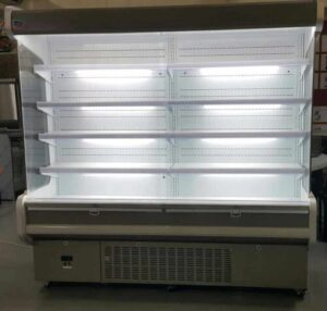 High Back Wall Chiller 2M